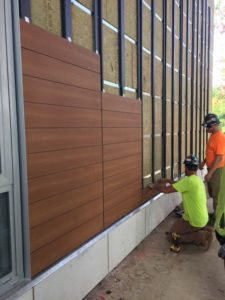 Design and installation of composite sheets